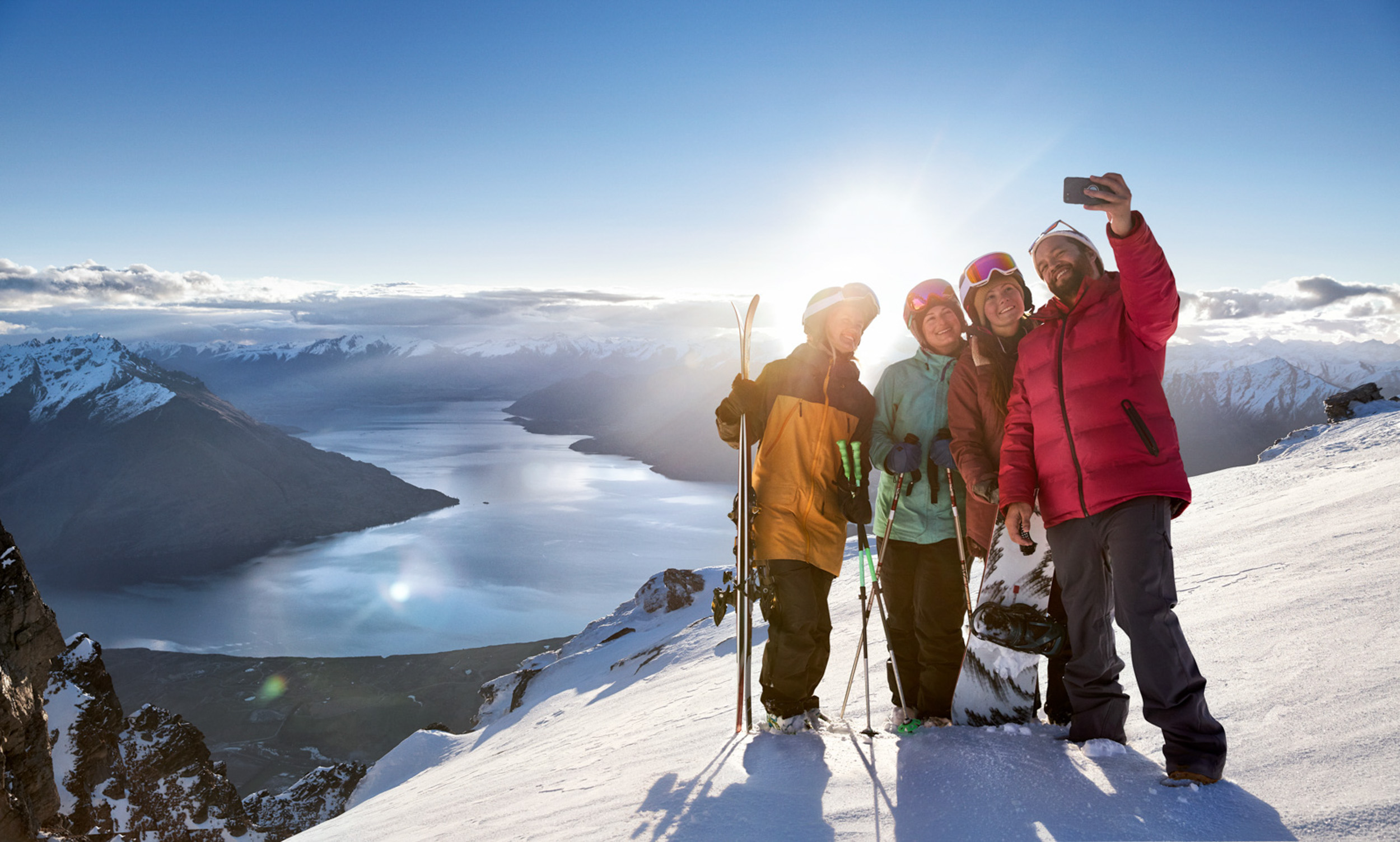 Tourism New Zealand - This is how we winter campaign