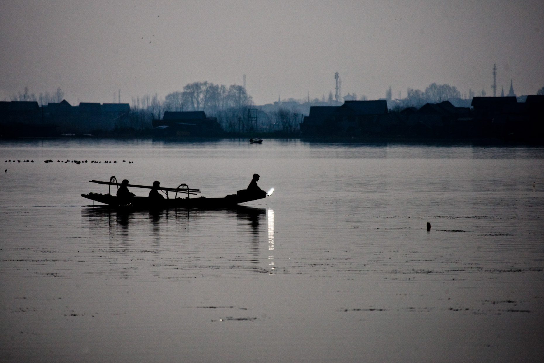 Dal Lake, Srinigar - Kashmir, India